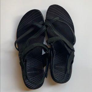 women's Merrell sandals